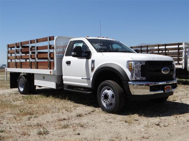 2018 F-550 Regular Cab DRW 4x2,  Scelzi Stake Bed #FJ2685 - photo 6