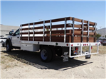 2018 F-550 Regular Cab DRW 4x2,  Scelzi Stake Bed #FJ2685 - photo 1