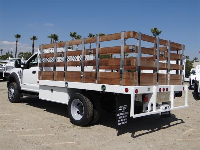 2018 F-450 Regular Cab DRW 4x2,  Scelzi Stake Bed #FJ2722 - photo 2