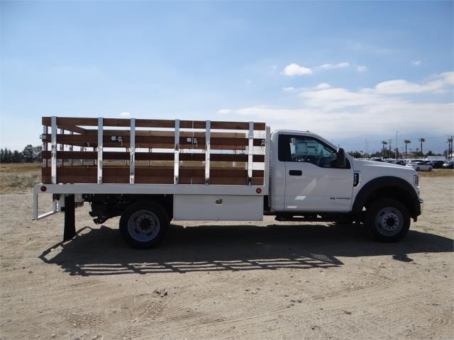 2018 F-450 Regular Cab DRW 4x2,  Scelzi Stake Bed #FJ2722 - photo 5
