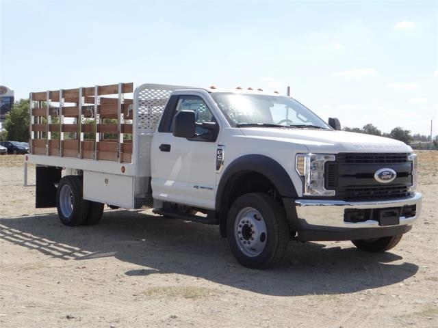 2018 F-450 Regular Cab DRW 4x2,  Scelzi Stake Bed #FJ2722 - photo 6