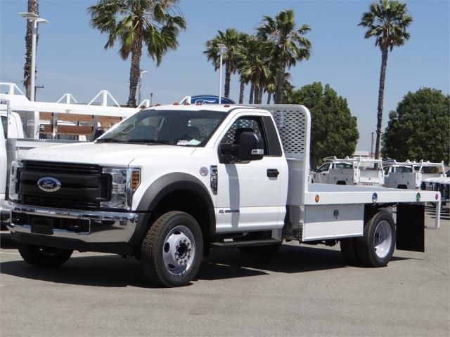 2018 F-550 Regular Cab DRW 4x2,  Scelzi WFB Flatbed #FJ2772 - photo 1
