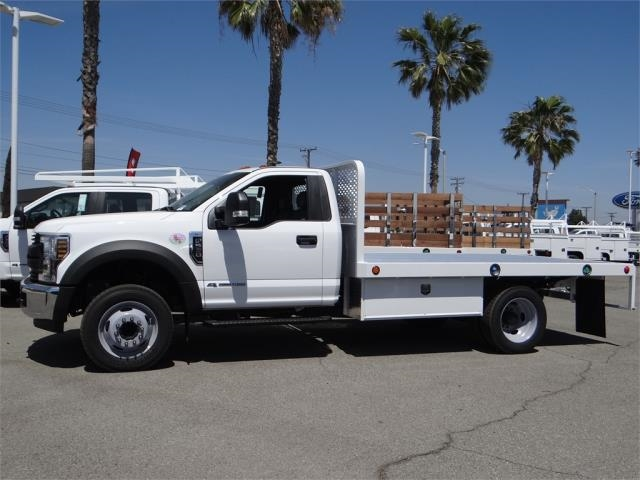 2018 F-550 Regular Cab DRW, Scelzi Flatbed #FJ2772 - photo 3