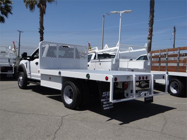 2018 F-550 Regular Cab DRW, Scelzi Flatbed #FJ2772 - photo 2