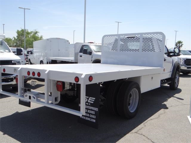 2018 F-550 Regular Cab DRW 4x2,  Scelzi Flatbed #FJ2772 - photo 4