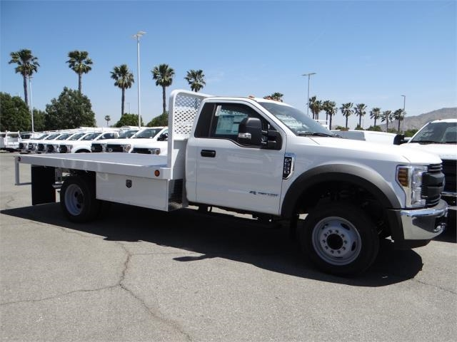 2018 F-550 Regular Cab DRW, Scelzi Flatbed #FJ2772 - photo 5