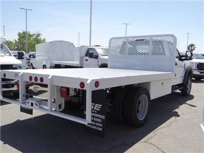 2018 F-550 Regular Cab DRW 4x2,  Scelzi WFB Flatbed #FJ2772 - photo 4