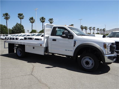 2018 F-550 Regular Cab DRW 4x2,  Scelzi WFB Flatbed #FJ2772 - photo 5
