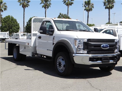 2018 F-550 Regular Cab DRW 4x2,  Scelzi WFB Flatbed #FJ2772 - photo 6