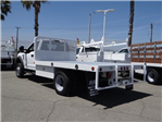 2018 F-550 Regular Cab DRW 4x2,  Scelzi Flatbed #FJ2772 - photo 1