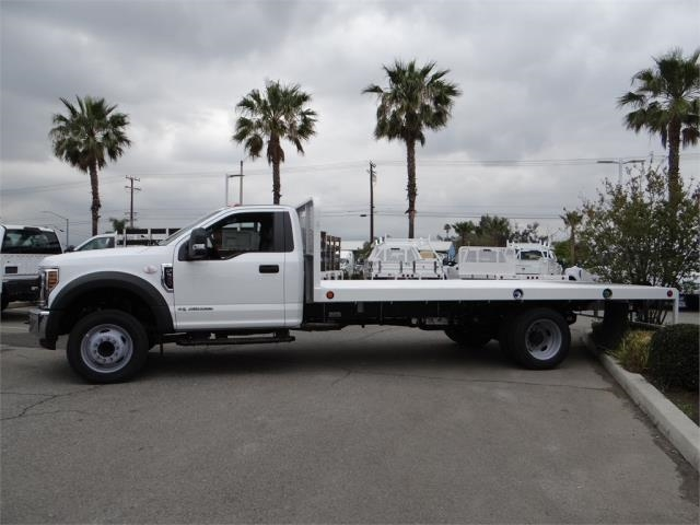 2018 F-550 Regular Cab DRW, Scelzi Flatbed #FJ2816 - photo 3