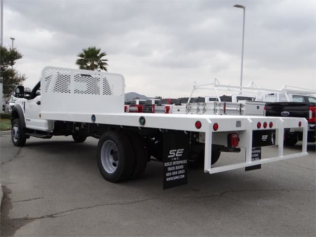 2018 F-550 Regular Cab DRW, Scelzi Flatbed #FJ2816 - photo 2