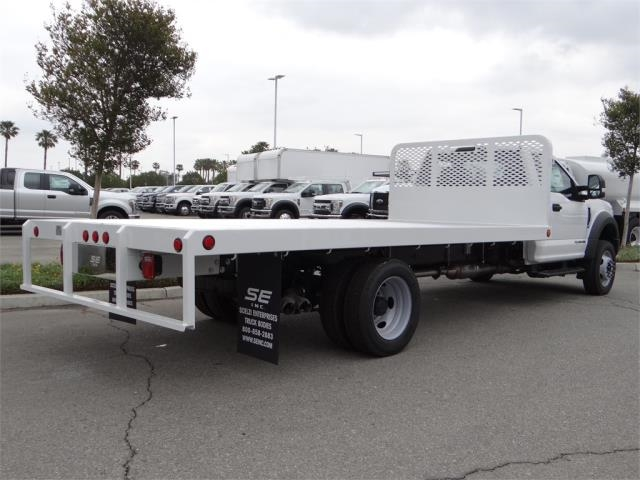 2018 F-550 Regular Cab DRW, Scelzi Flatbed #FJ2816 - photo 4