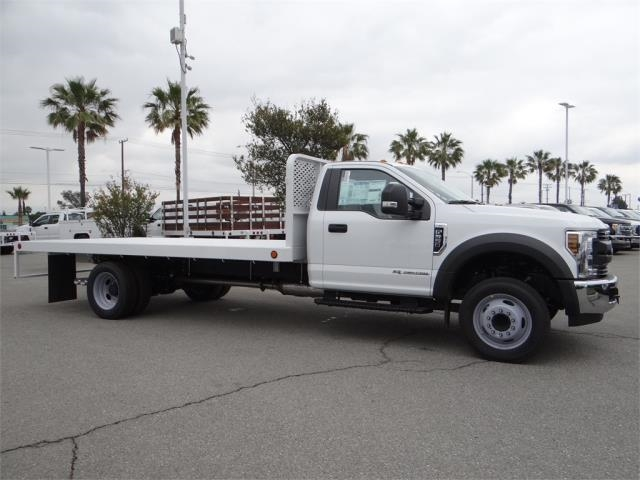 2018 F-550 Regular Cab DRW 4x2,  Scelzi Flatbed #FJ2816 - photo 5