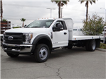 2018 F-550 Regular Cab DRW, Scelzi Flatbed #FJ2816 - photo 1