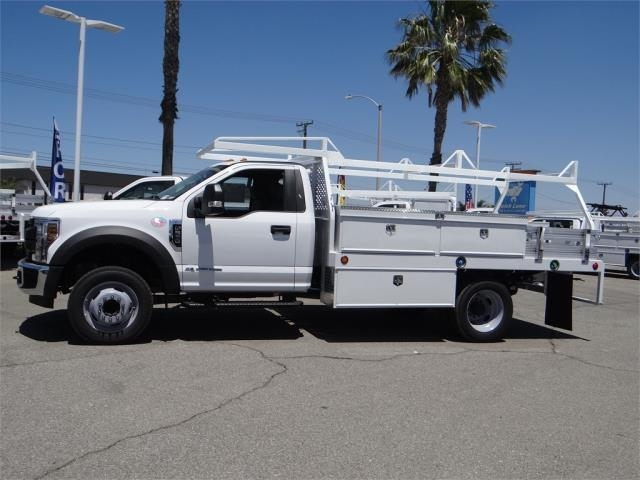2018 F-550 Regular Cab DRW, Scelzi Contractor Body #FJ2851 - photo 3