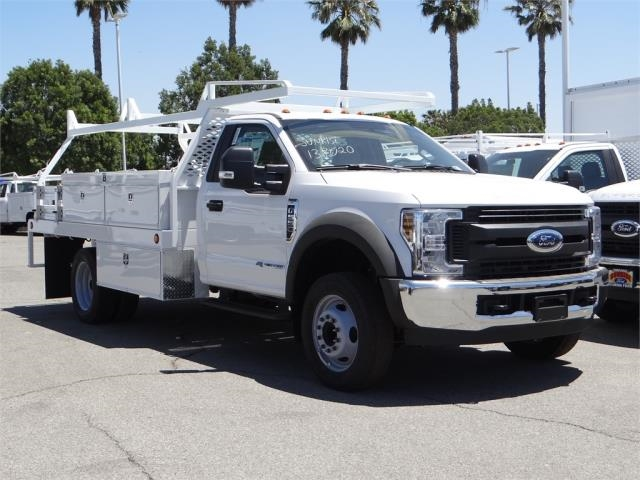 2018 F-550 Regular Cab DRW, Scelzi Contractor Body #FJ2851 - photo 6