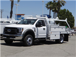 2018 F-550 Regular Cab DRW, Scelzi Contractor Body #FJ2851 - photo 1