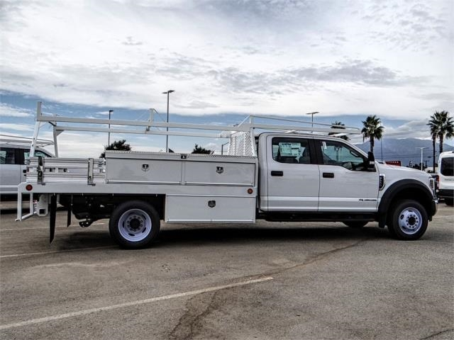 2018 F-550 Crew Cab DRW 4x2,  Scelzi Contractor Body #FJ2852 - photo 5
