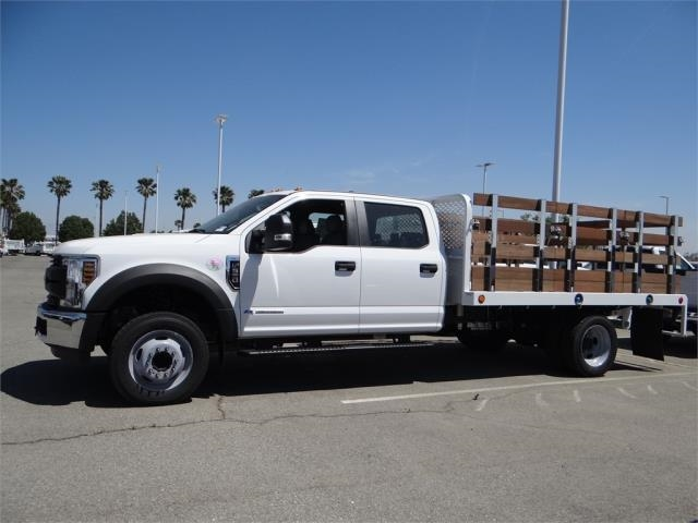 2018 F-550 Crew Cab DRW 4x2,  Scelzi Stake Bed #FJ2852 - photo 3