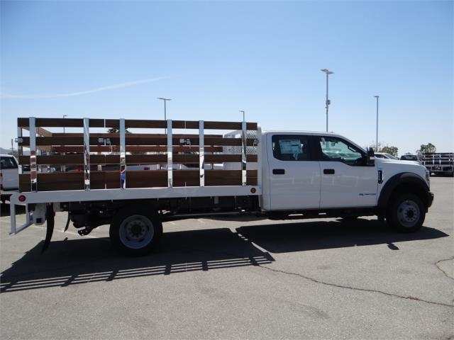 2018 F-550 Crew Cab DRW 4x2,  Scelzi Stake Bed #FJ2852 - photo 5