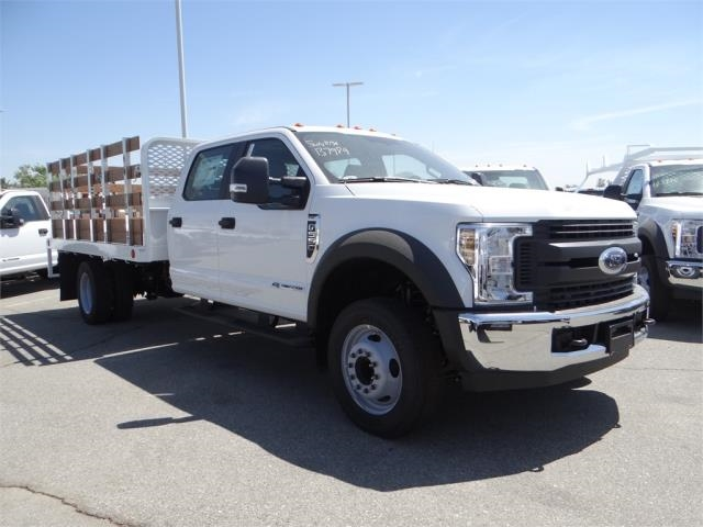 2018 F-550 Crew Cab DRW 4x2,  Scelzi Stake Bed #FJ2852 - photo 6