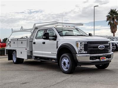 2018 F-550 Crew Cab DRW 4x2,  Scelzi CTFB Contractor Body #FJ2852 - photo 6