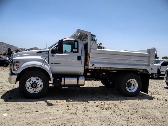 2018 F-650 Regular Cab DRW 4x2,  Scelzi Dump Body #FJ2889 - photo 3
