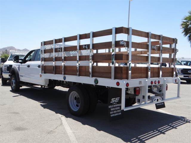 2018 F-550 Crew Cab DRW, Scelzi Stake Bed #FJ2942 - photo 3