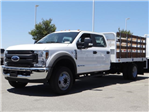 2018 F-550 Crew Cab DRW, Scelzi Stake Bed #FJ2942 - photo 1