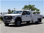 2018 F-450 Crew Cab DRW 4x2,  Scelzi Contractor Body #FJ2944 - photo 1