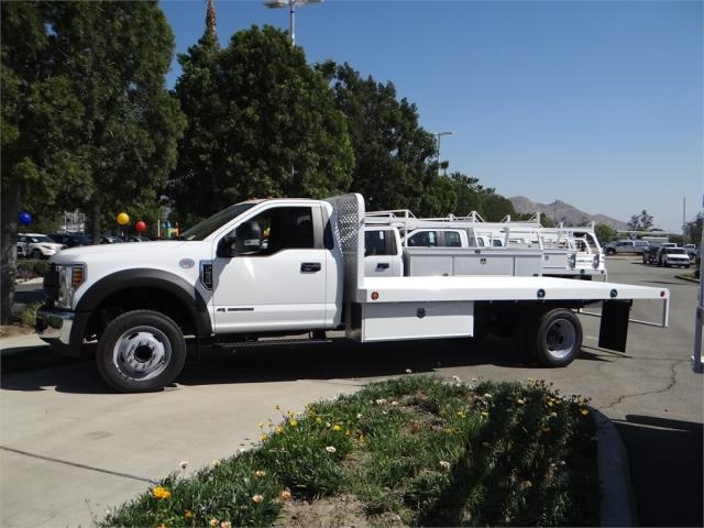 2018 F-550 Regular Cab DRW, Scelzi Flatbed #FJ2958 - photo 3