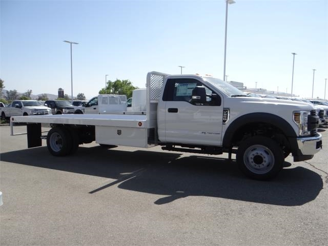 2018 F-550 Regular Cab DRW, Scelzi Flatbed #FJ2958 - photo 5
