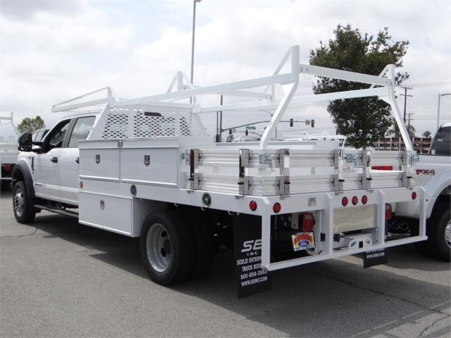 2018 F-450 Crew Cab DRW 4x2,  Scelzi CTFB Contractor Body #FJ2987 - photo 2