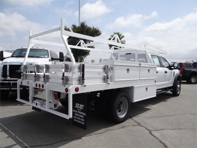 2018 F-450 Crew Cab DRW 4x2,  Scelzi CTFB Contractor Body #FJ2987 - photo 4