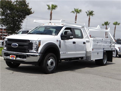 2018 F-450 Crew Cab DRW 4x2,  Scelzi CTFB Contractor Body #FJ2987 - photo 1