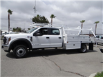 2018 F-450 Crew Cab DRW 4x2,  Scelzi CTFB Contractor Body #FJ2987 - photo 3
