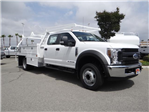 2018 F-450 Crew Cab DRW 4x2,  Scelzi CTFB Contractor Body #FJ2987 - photo 6
