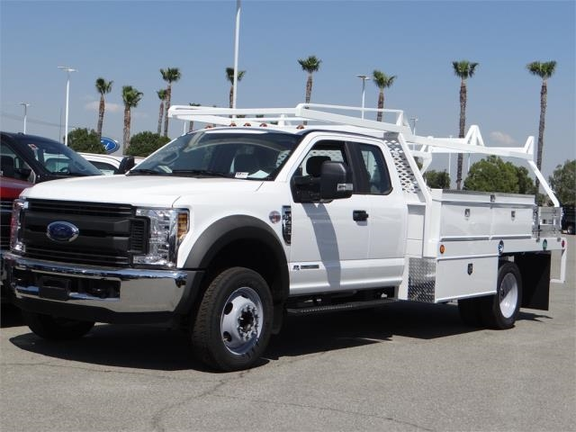 2018 F-450 Super Cab DRW 4x2,  Scelzi CTFB Contractor Body #FJ2998 - photo 1