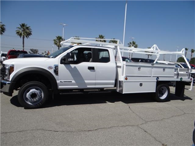 2018 F-450 Super Cab DRW 4x2,  Scelzi CTFB Contractor Body #FJ2998 - photo 3