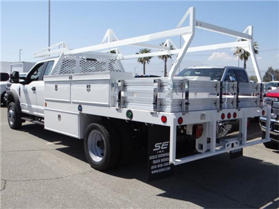 2018 F-450 Super Cab DRW 4x2,  Scelzi CTFB Contractor Body #FJ2998 - photo 2