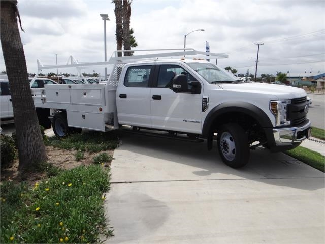 2018 F-450 Crew Cab DRW 4x2,  Scelzi Contractor Body #FJ2999 - photo 5