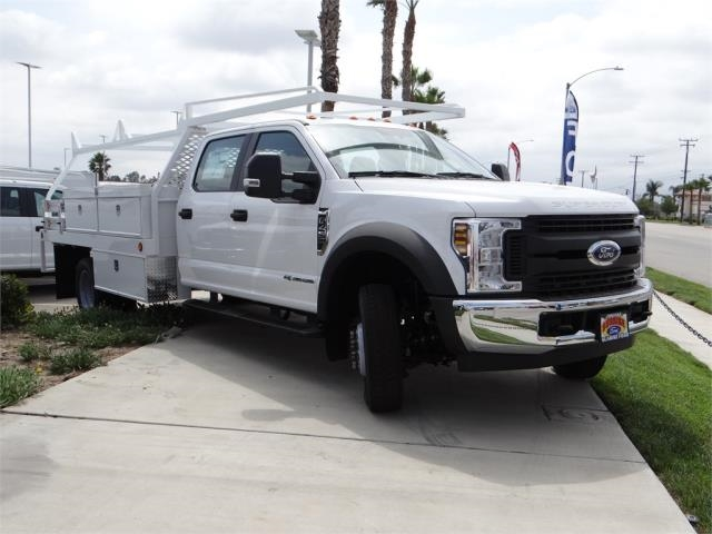 2018 F-450 Crew Cab DRW 4x2,  Scelzi Contractor Body #FJ2999 - photo 6
