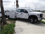 2018 F-450 Crew Cab DRW 4x2,  Scelzi CTFB Contractor Body #FJ2999 - photo 5