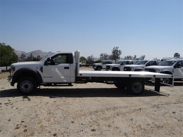 2018 F-550 Regular Cab DRW, Scelzi Flatbed #FJ3012 - photo 3
