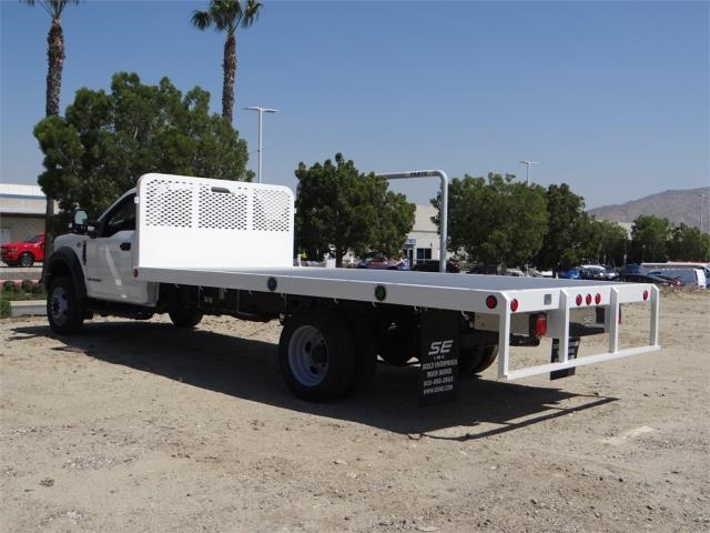 2018 F-550 Regular Cab DRW, Scelzi Flatbed #FJ3012 - photo 2