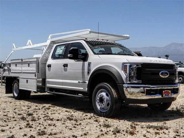 2018 F-550 Crew Cab DRW 4x2,  Scelzi Contractor Body #FJ3015 - photo 6