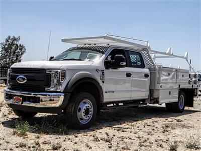 2018 F-550 Crew Cab DRW 4x2,  Scelzi CTFB Contractor Body #FJ3015 - photo 1