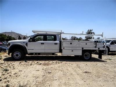 2018 F-550 Crew Cab DRW 4x2,  Scelzi CTFB Contractor Body #FJ3015 - photo 3