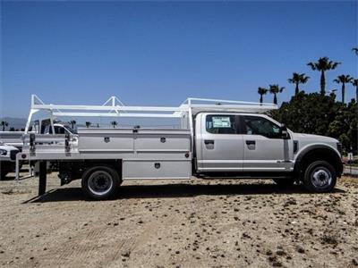 2018 F-550 Crew Cab DRW 4x2,  Scelzi CTFB Contractor Body #FJ3015 - photo 5